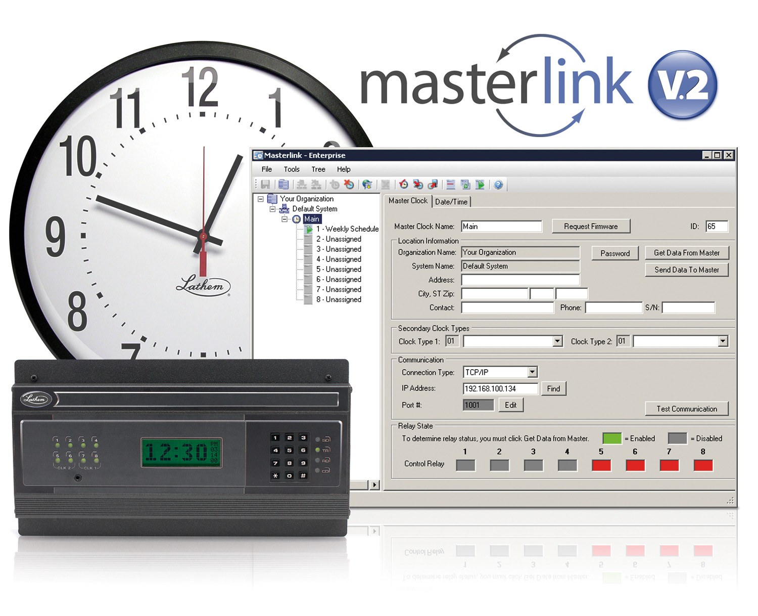Master Clock Software