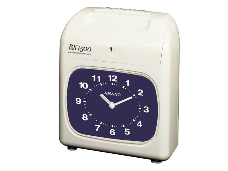 Amano BX-1500 Electronic Time Clock