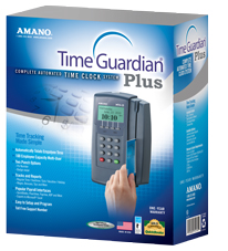 Amano Time Guardian Plus Time Clock System (Ethernet)