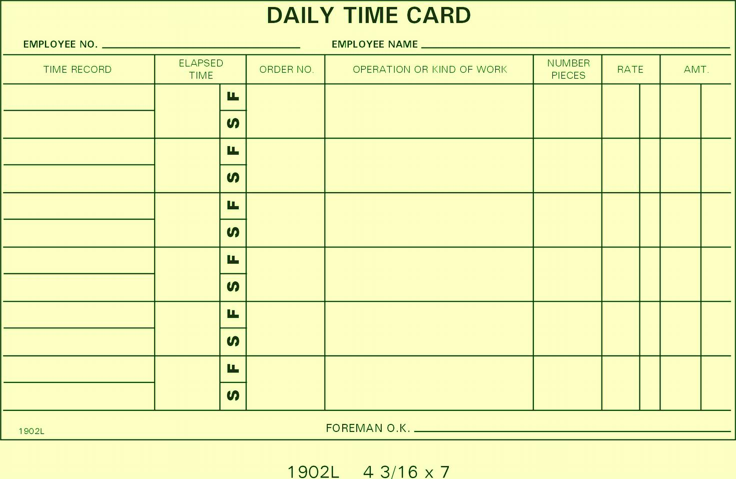 Work It Daily Reviews >> 1902L Job Cards