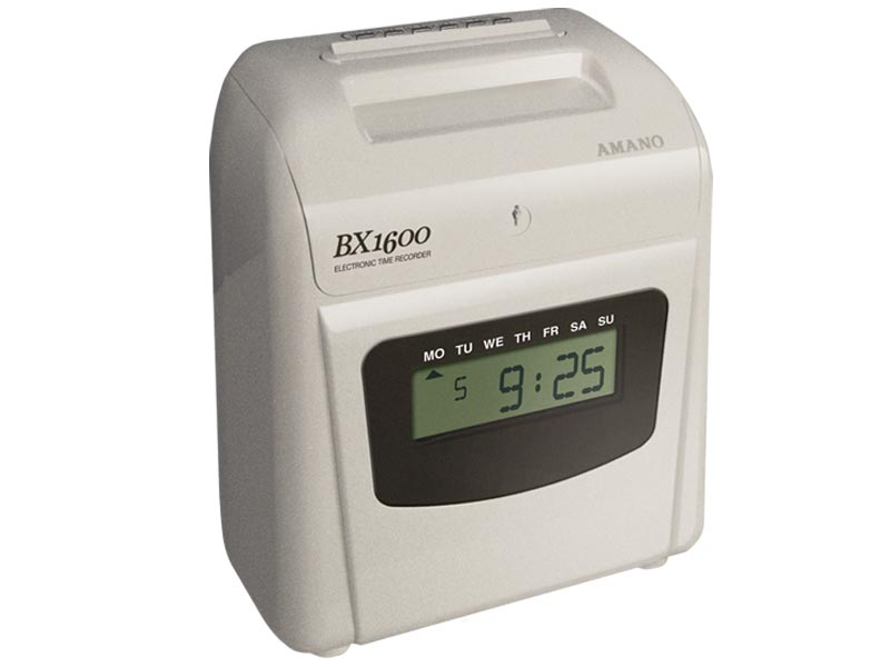 Amano Bx 1600 Electronic Time Clock