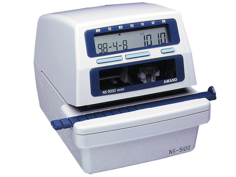 amano ns date  u0026 numbering machine