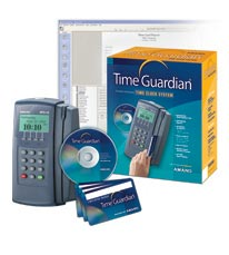 Amano Time Guardian Time Clock System (USB)